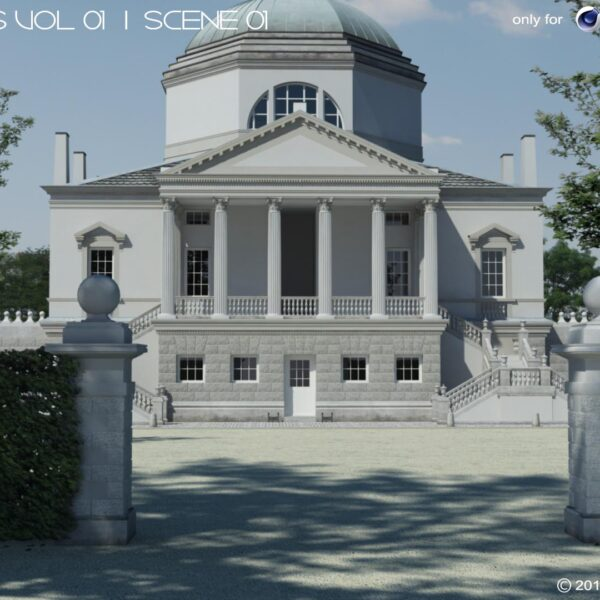 Renderscenes VOL 01 - Scene 01