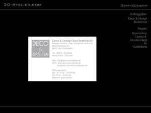 3D-Atelier - Grafikdesign 11b
