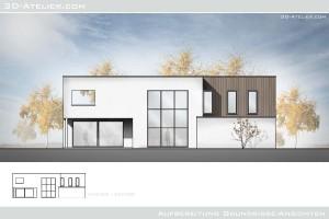3D-Atelier_com - 2D Colorierung Ansicht  Aufbereitung