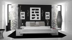 Schlafzimmer 3D Visualisierung